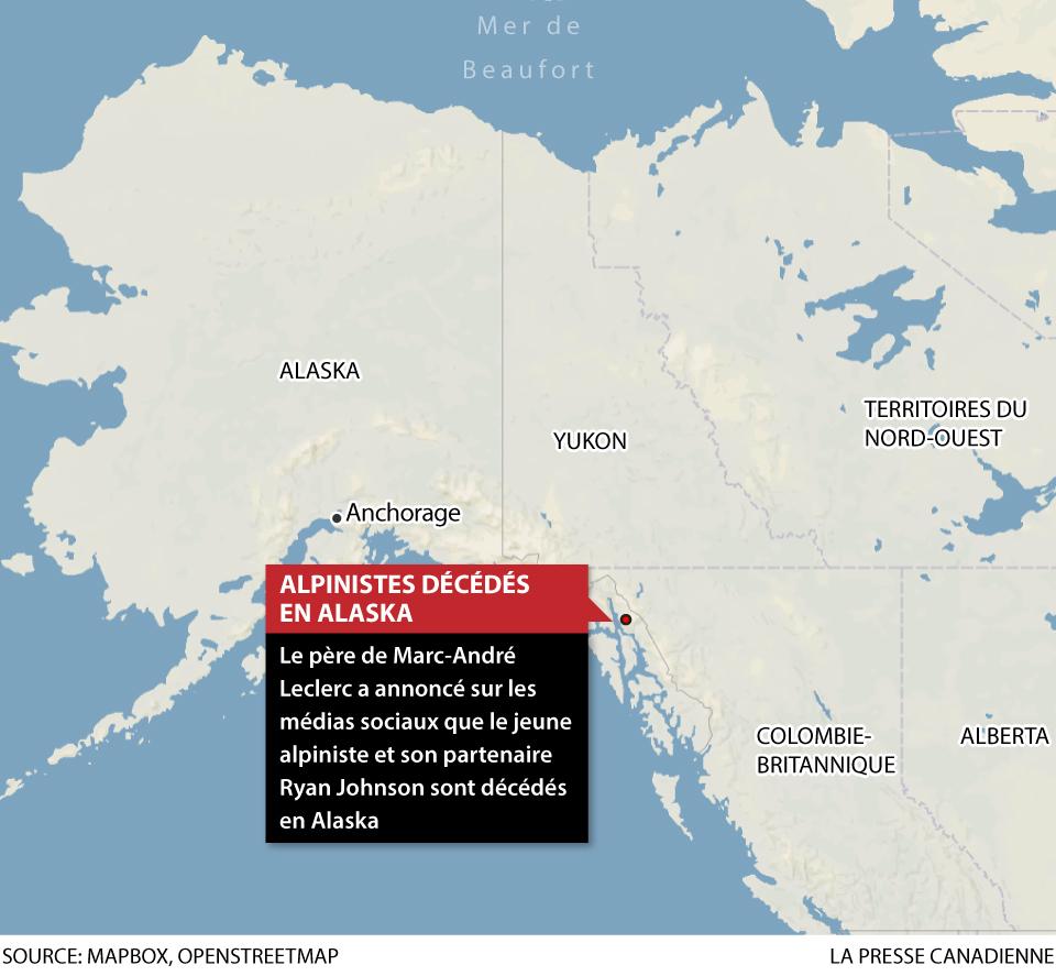 Alpinistes décédés en Alaska