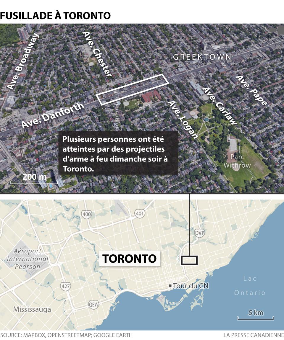 Fusillade à Toronto
