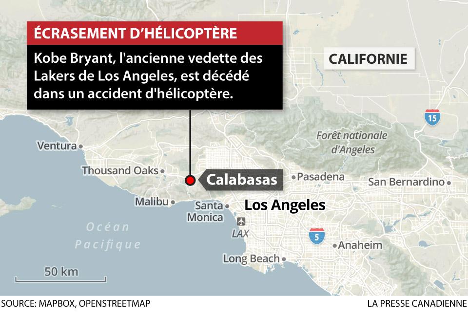 Écrasement d'hélicoptère
