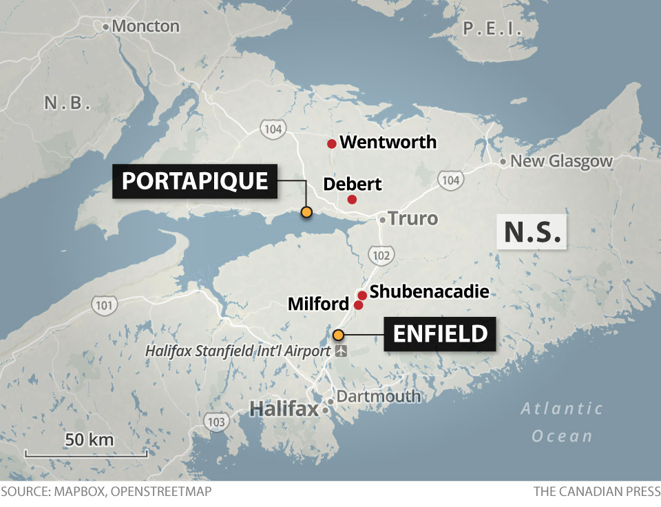 N.S. SHOOTER MAP
